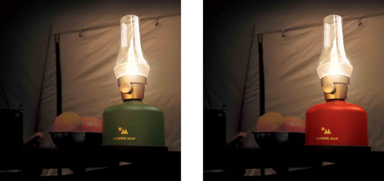 画像1: LUCY LANTERN(ルーシーランタン)は、OD缶を再利用したECOなランタン
