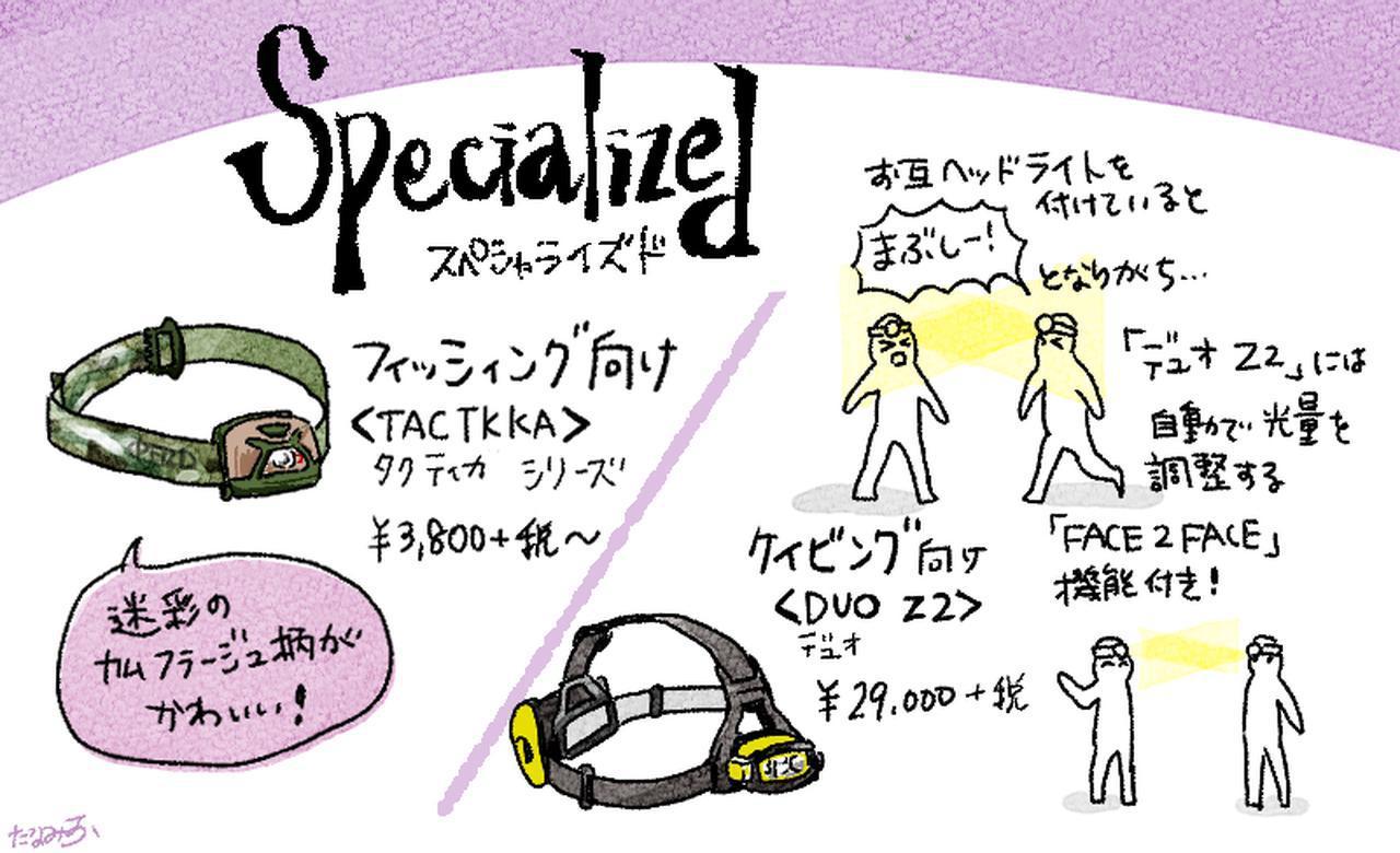 画像: 【ペツルのヘッドライト④】「Specialized」ハンティングやケイビングにピッタリ! 夜間視力を維持するカラー光
