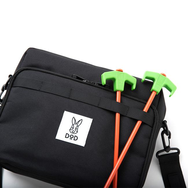 画像5: DODブランドブック第三弾!キャンプに日常に旅行に、うっかり毎日使ってしまうトランスフォームショルダーバッグを宝島社より発売!