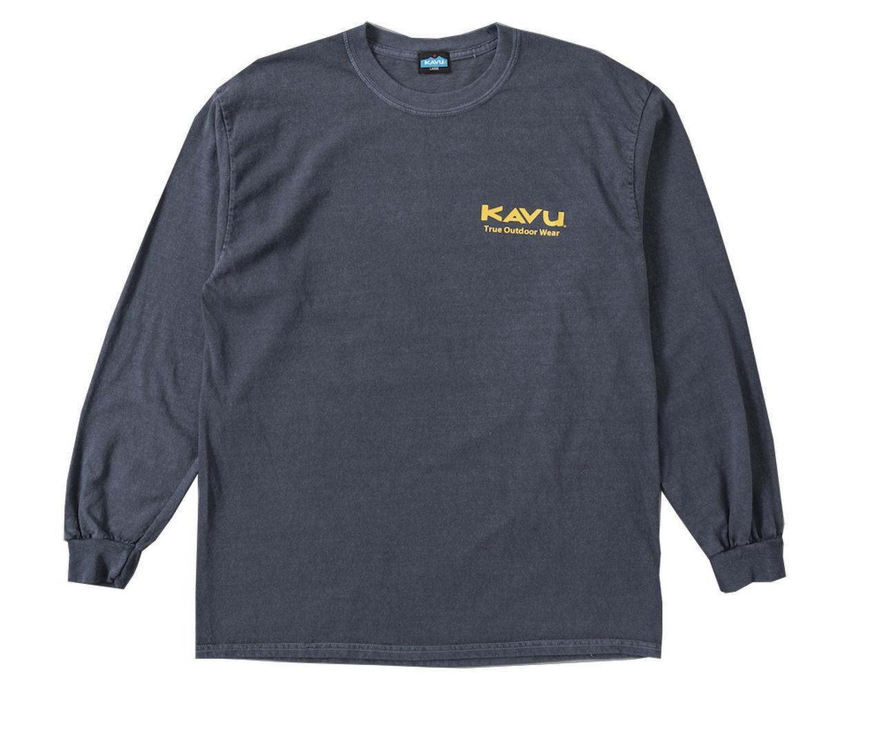 画像2: ロゴTシャツ&スウェット by KAVU(カブー)