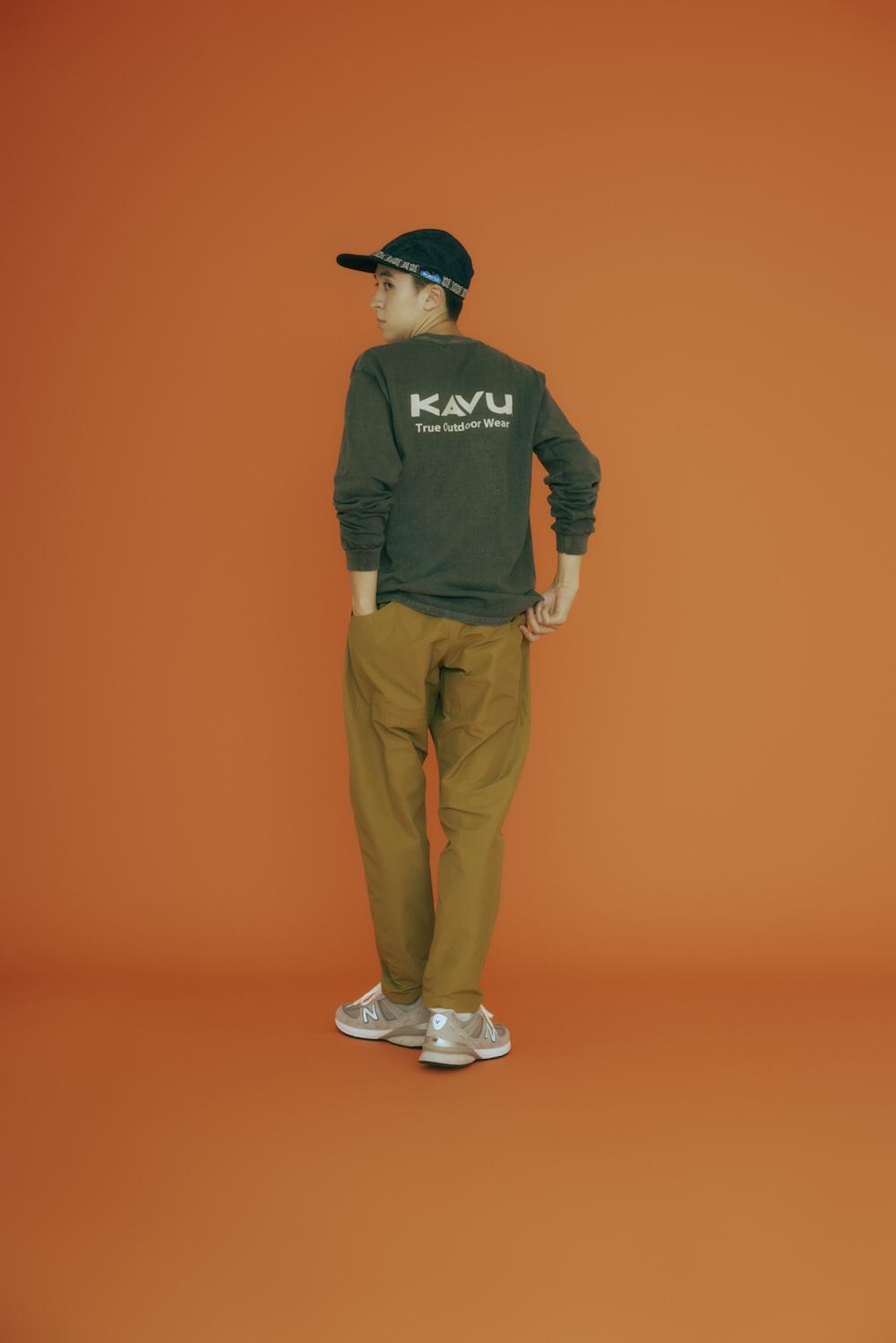 画像1: ロゴTシャツ&スウェット by KAVU(カブー)
