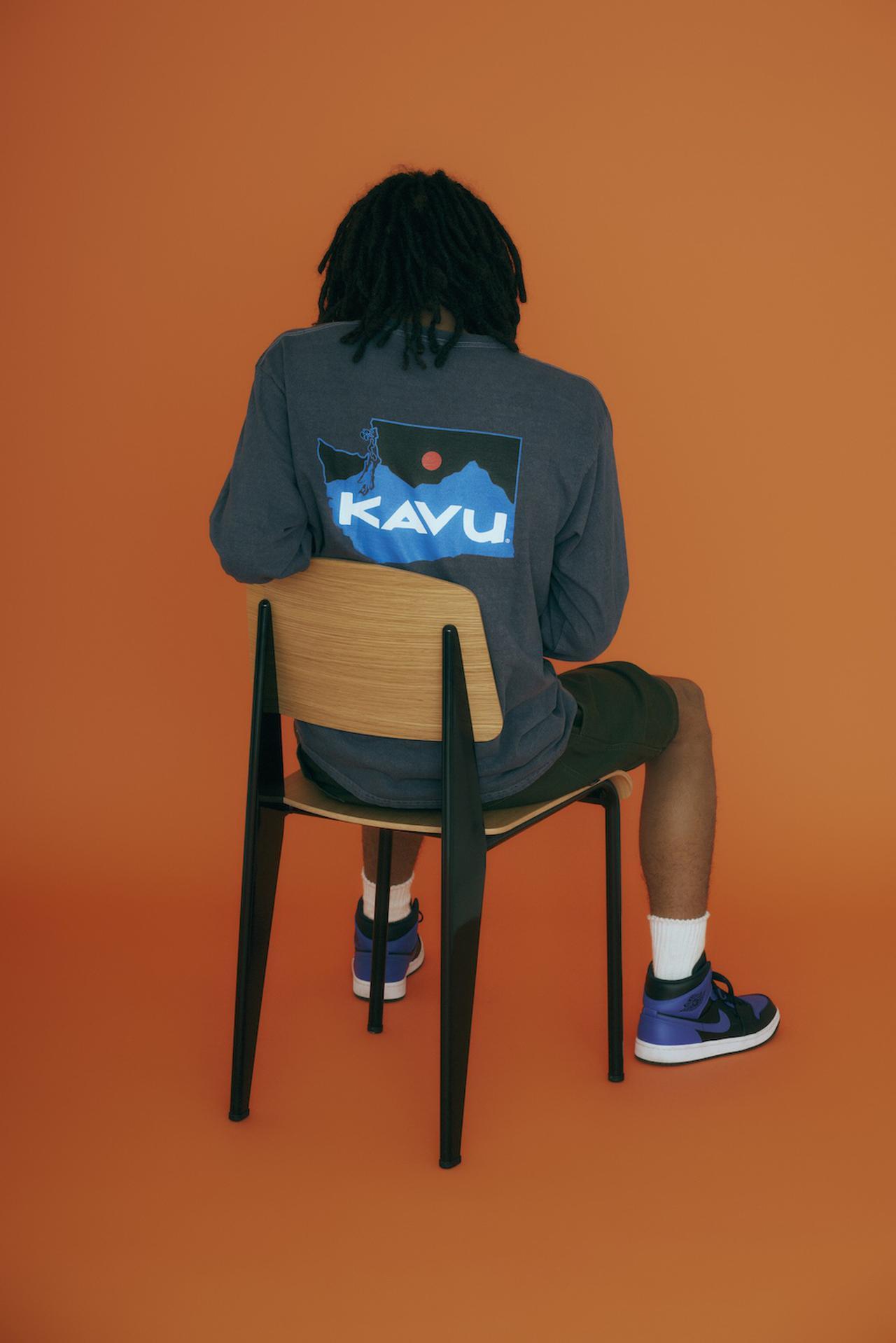 画像4: ロゴTシャツ&スウェット by KAVU(カブー)