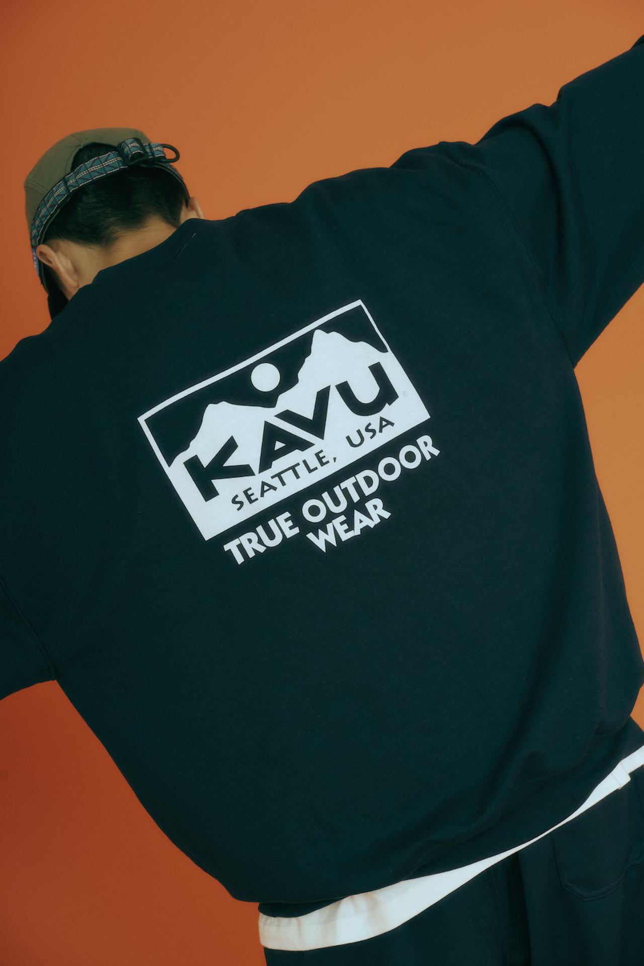 画像3: ロゴTシャツ&スウェット by KAVU(カブー)