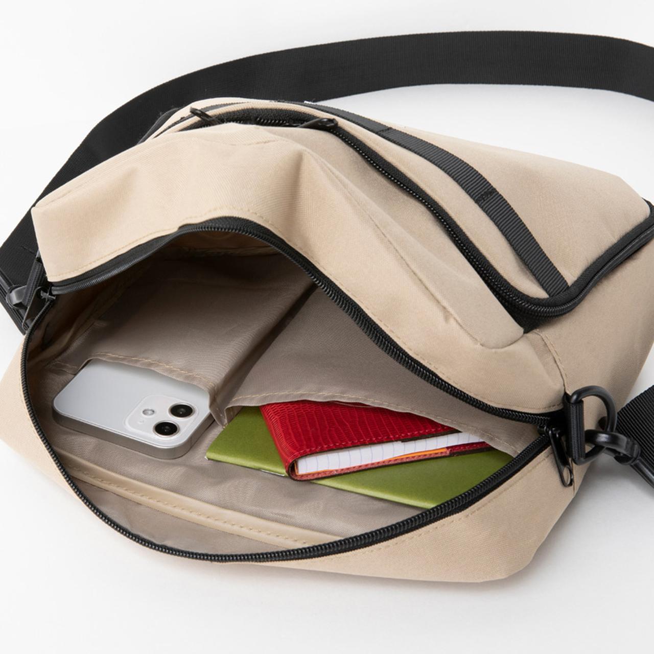 画像3: DODブランドブック第三弾!キャンプに日常に旅行に、うっかり毎日使ってしまうトランスフォームショルダーバッグを宝島社より発売!