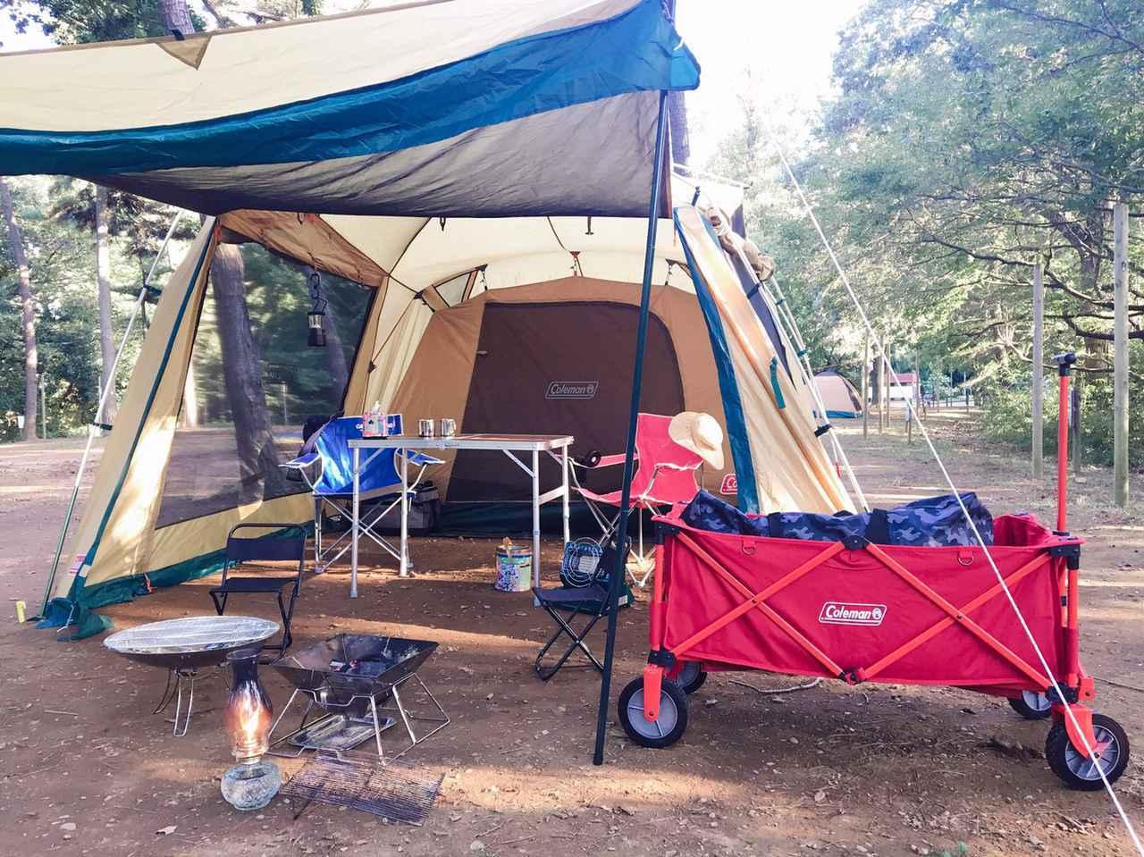 画像: 【商品レビュー】コールマンのアウトドアワゴンはキャンプでも日常でも大活躍アイテム - ハピキャン キャンプ・アウトドア情報メディア