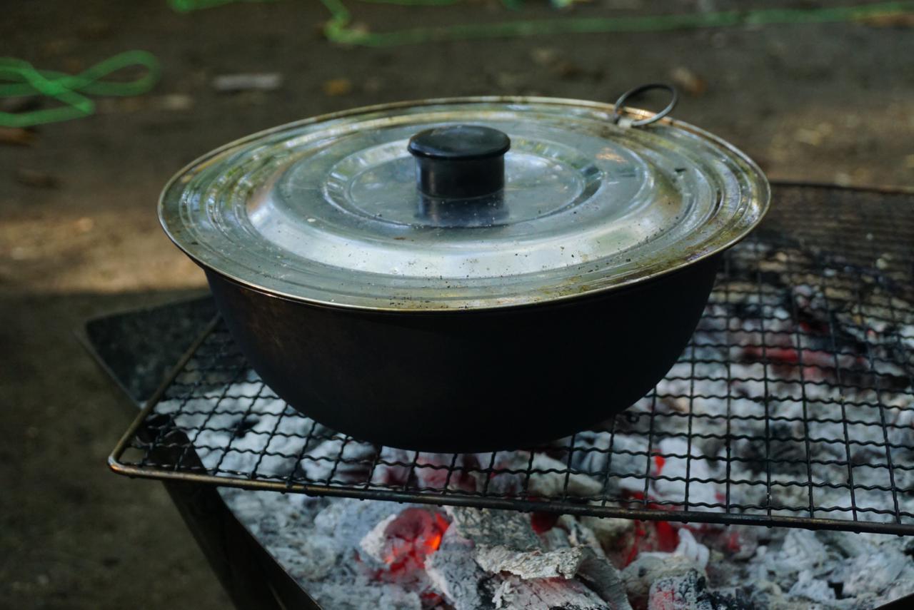 画像: 材料3:ステンレス鍋蓋