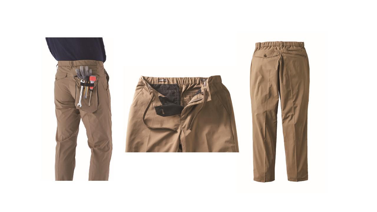 画像: 秋冬バージョン「SOLOTEX®使用ジャケット」、「SOLOTEX®使用2WAY パンツ」のミリ単位の改良で着心地もおしゃれ度もUP!