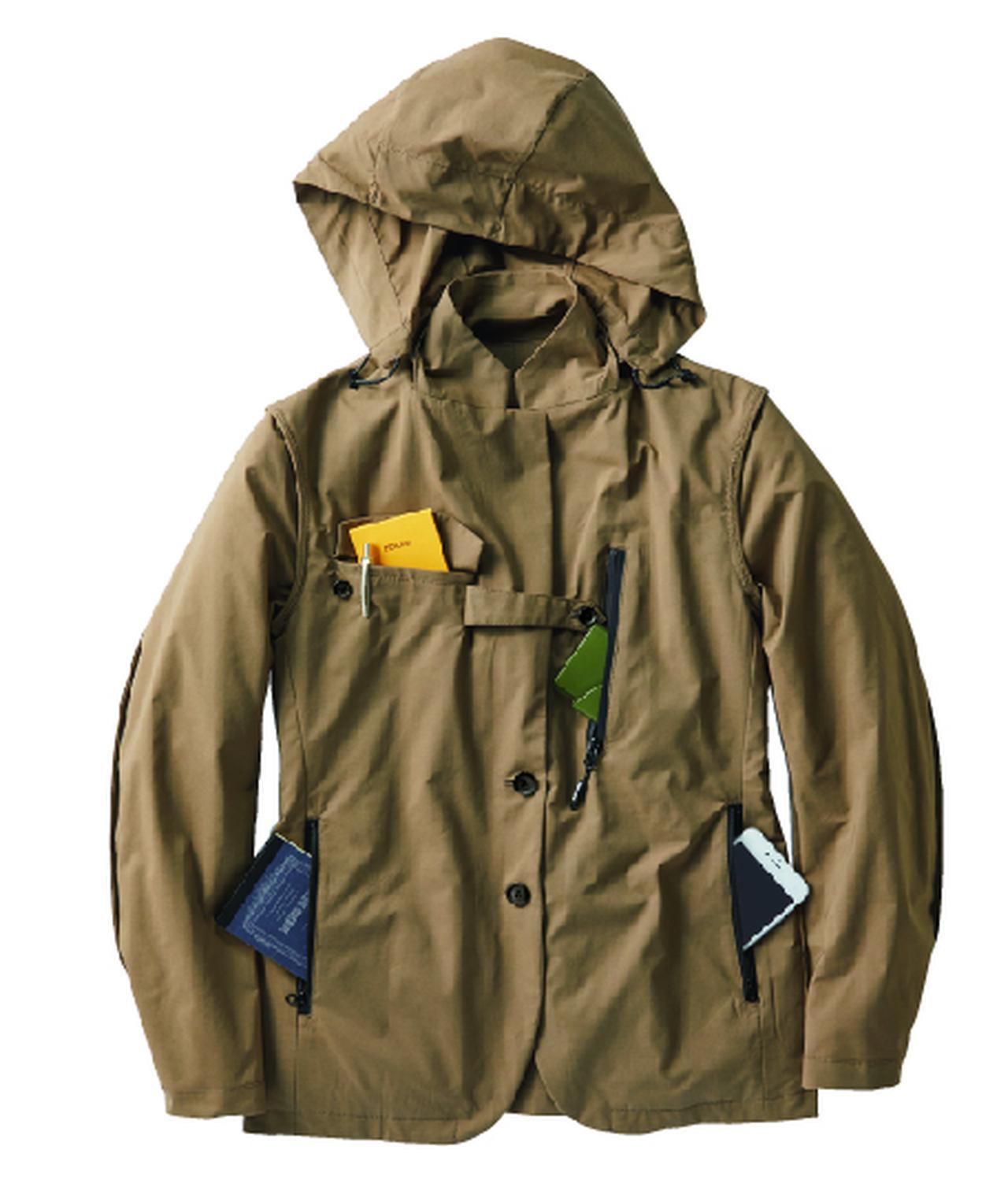 画像2: ワークマンが世界初の電熱ヒーター付スーツと蓄熱ビジネスコート新発売!ウィメンズもあります