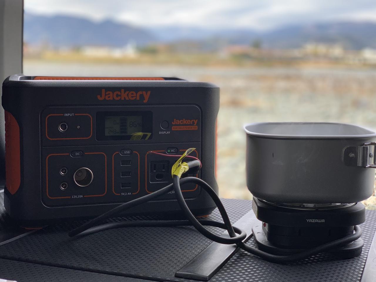 画像: 筆者愛用「Jackery (ジャクリ)ポータブル電源700」は使い勝手抜群! 車中泊やソロキャンプを快適に! - ハピキャン|キャンプ・アウトドア情報メディア