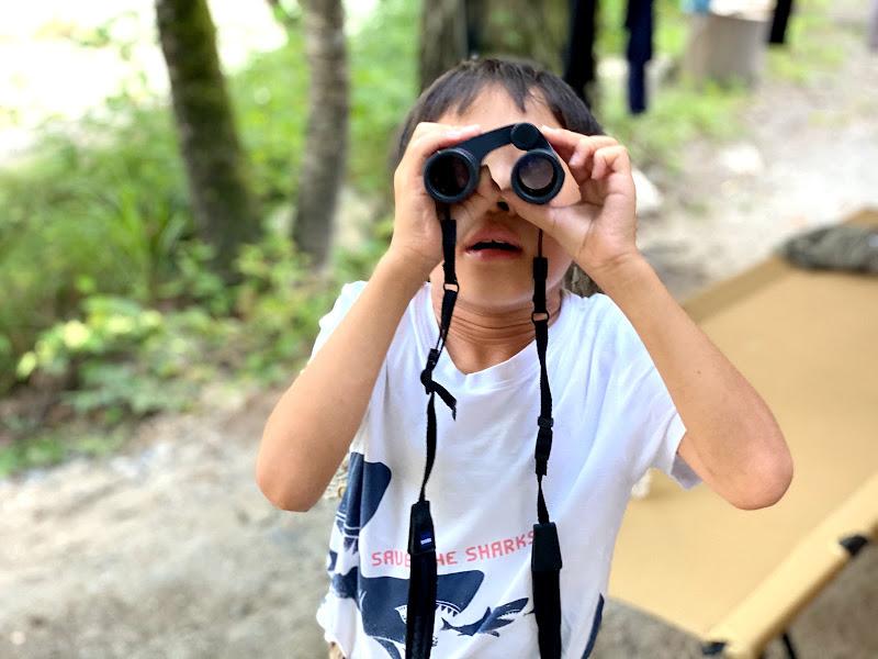 画像1: 双眼鏡を持って、ファミリーキャンプに出かけよう! カールツァイスの双眼鏡で昆虫・星空を観察してみた