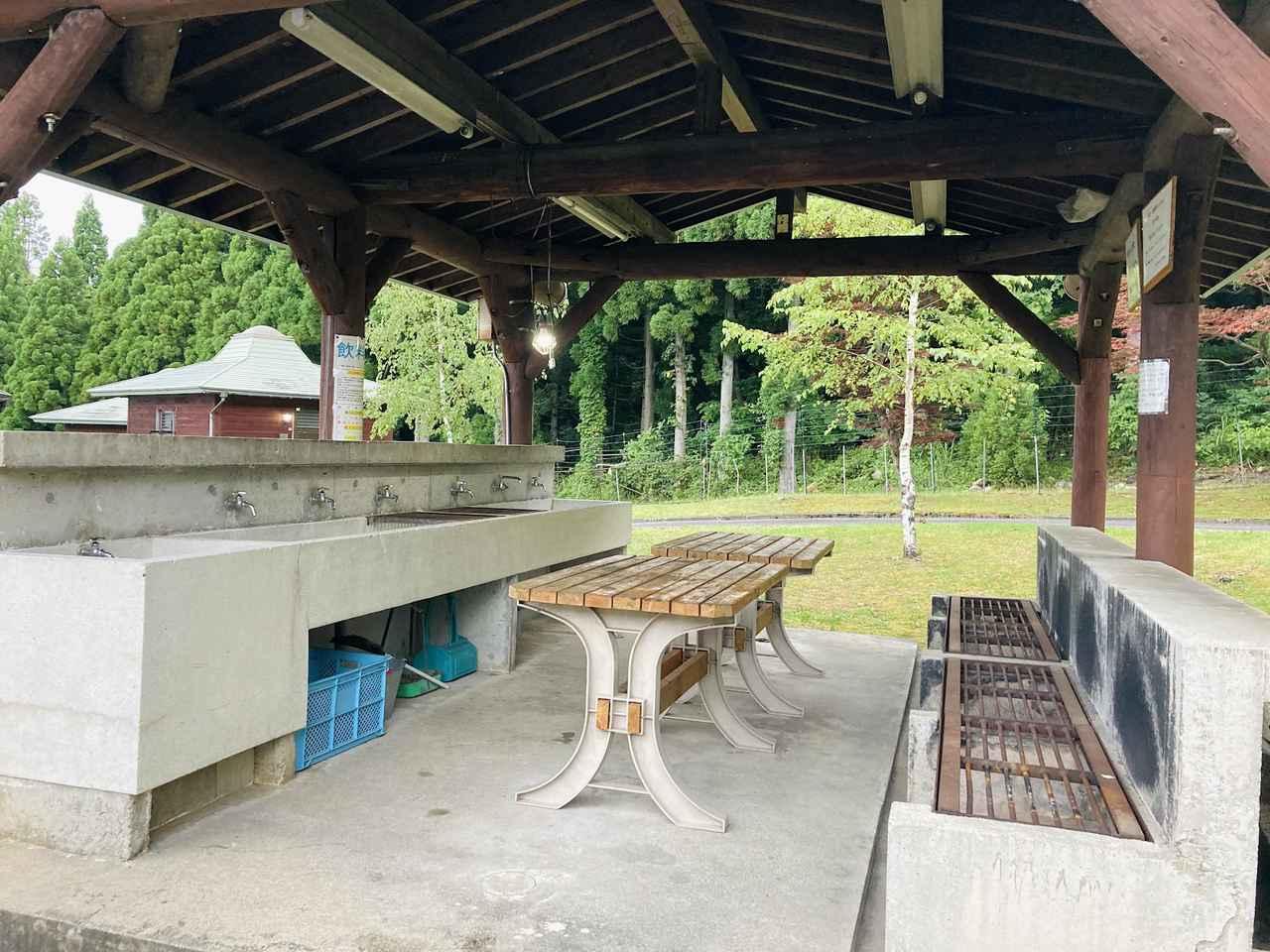 画像: 筆者撮影 炊事場の様子