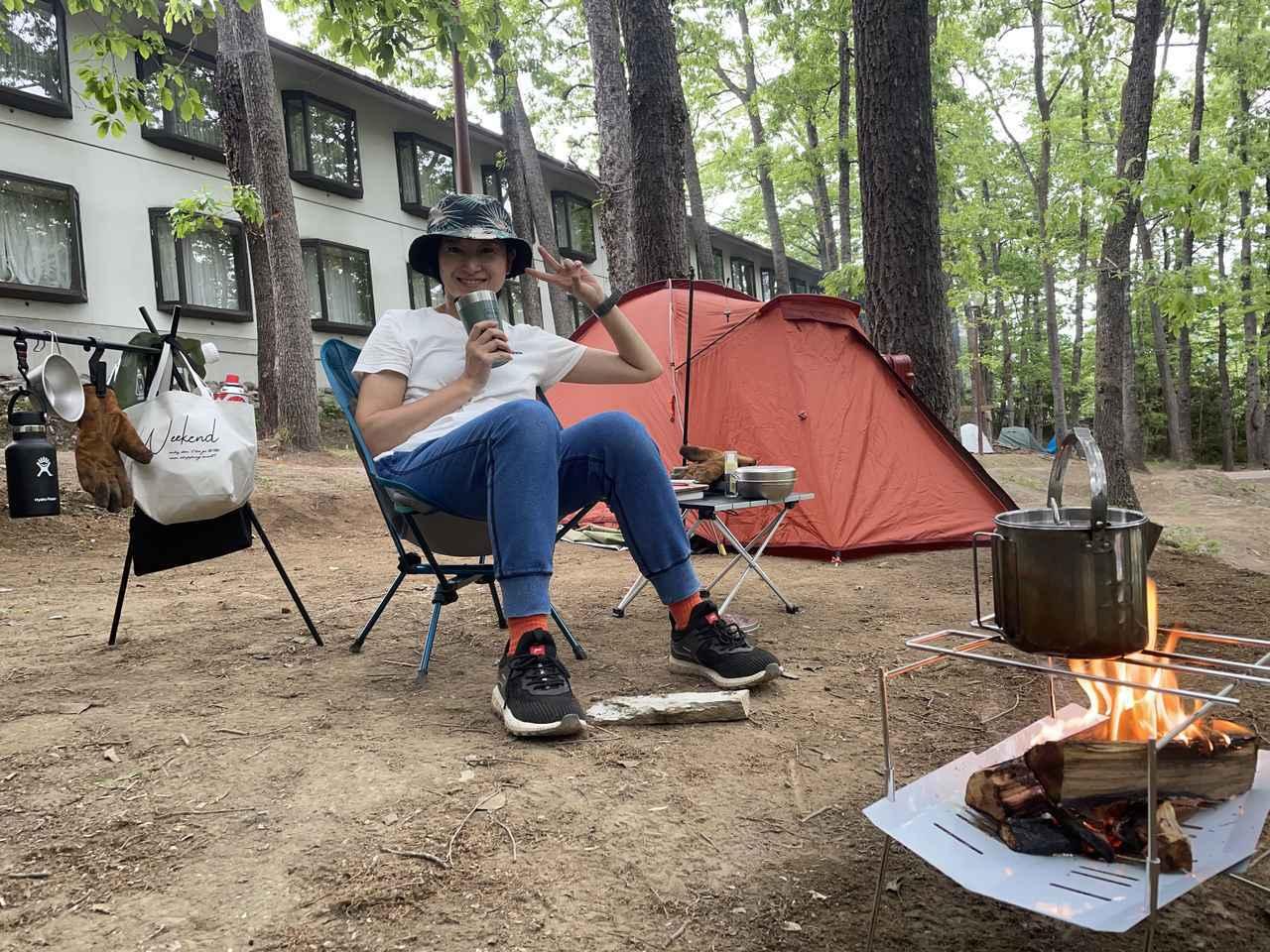 画像: ママ&女子キャンパーのソロキャンプ★軽量&簡単設営のデカトロンテントを絶対におすすめしたい5つの理由 - ハピキャン|キャンプ・アウトドア情報メディア