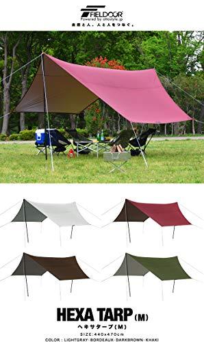 画像6: 夏キャンプが快適になる遮光性の高いタープ・シェード・テント13選! 遮光素材・コットン・TC素材がおすすめ