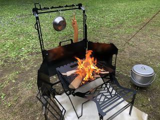 画像: 焚き火に没頭できるオールインワンセットがネイチャートーンズより新登場! 「 ボンファイヤー コックピット」を正直レビュー - ハピキャン|キャンプ・アウトドア情報メディア