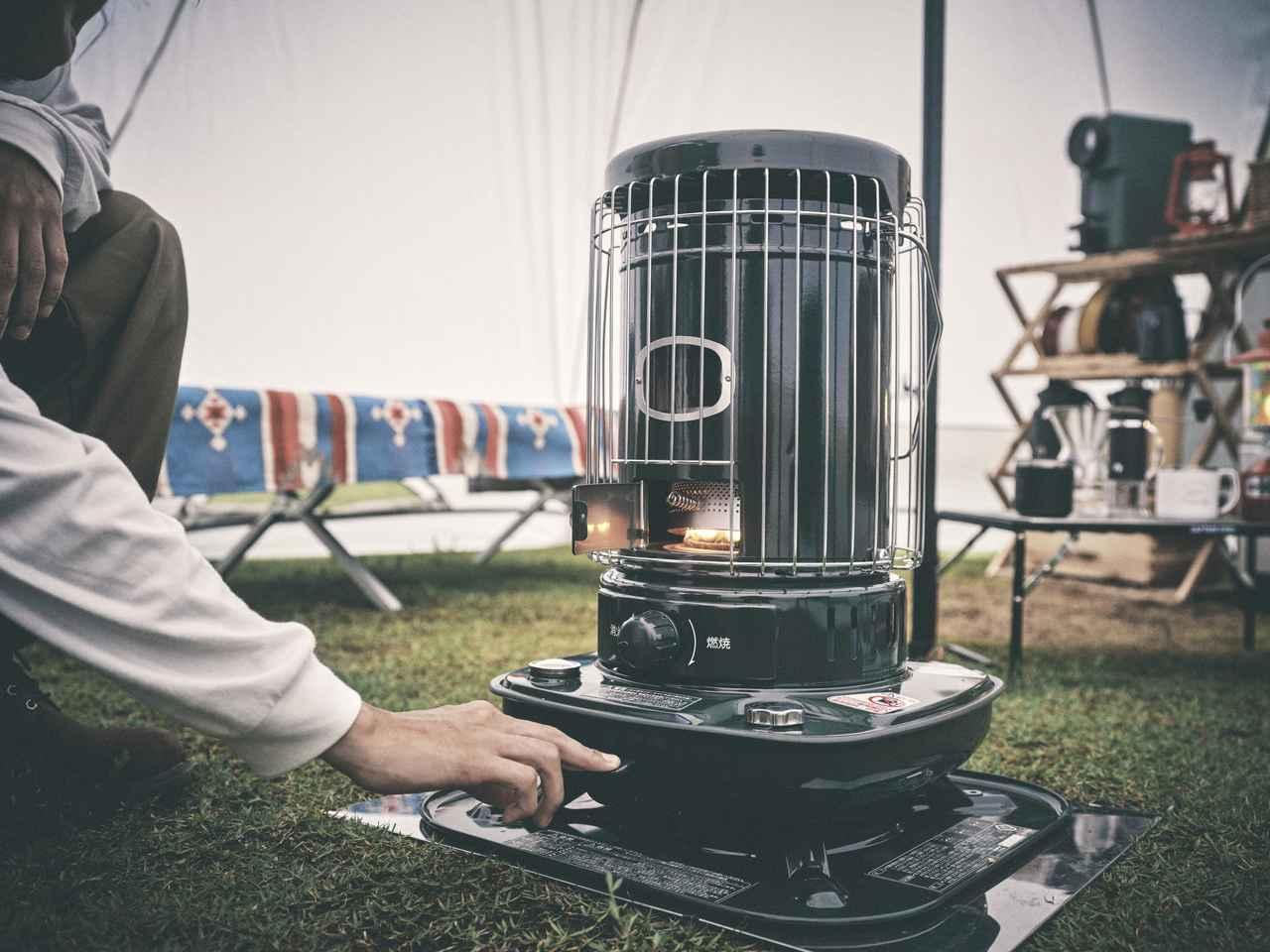 画像2: キャプテンスタッグ×CORONAがテント内で使用できる石油ストーブと石油こんろを新発売!