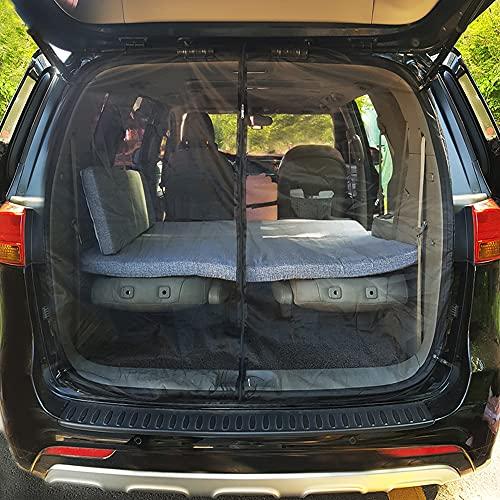 画像2: 車中泊(愛車スズキ・アルト)をもっと快適に!車用網戸を100均アイテムで簡単DIY
