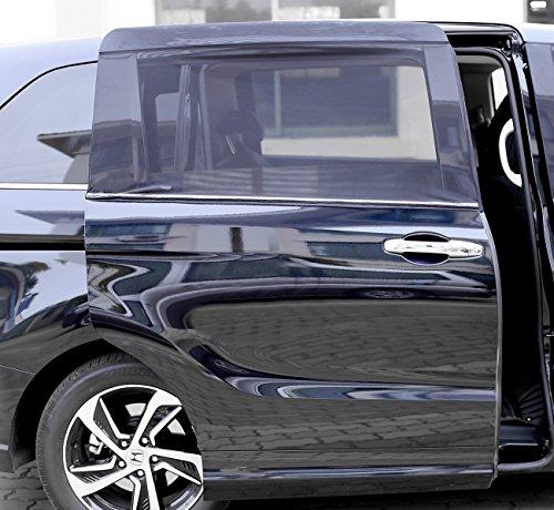 画像1: 車中泊(愛車スズキ・アルト)をもっと快適に!車用網戸を100均アイテムで簡単DIY