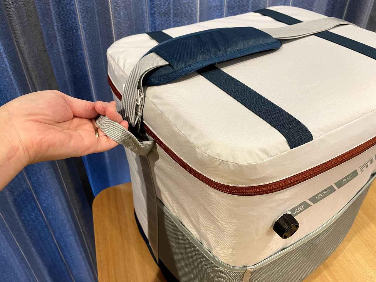 画像: 筆者撮影:ハンドル部分は力をかけやすいように折りたたんで縫ってあります!