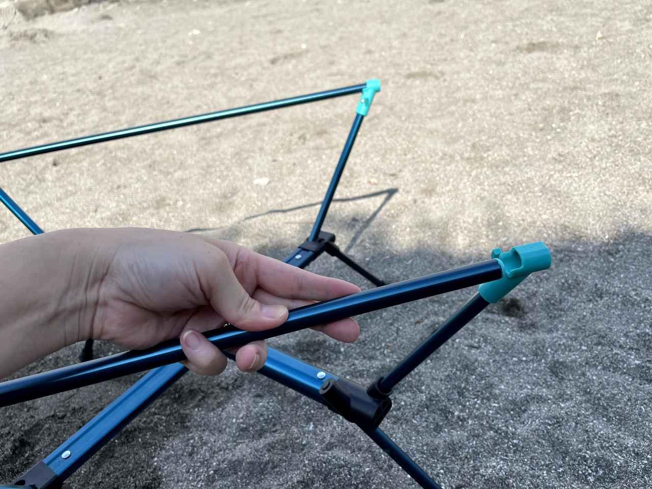 画像2: 【レビュー】QUECHUA (ケシュア) MH500の折りたたみテーブルは耐久性抜群でメイン/サブテーブルとしても使えます!