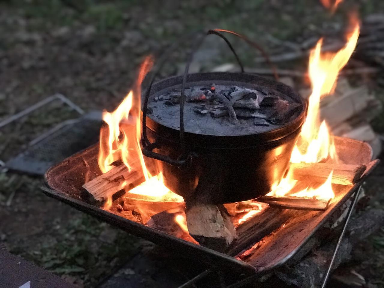 画像: ロゴスの焚き火台の特徴