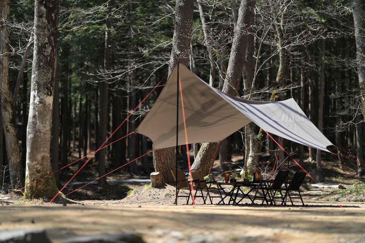 画像: QUICKCAMP(クイックキャンプ)からアレンジ性抜群なポリコットンタープ『TCオクタタープ』が新発売! - ハピキャン キャンプ・アウトドア情報メディア