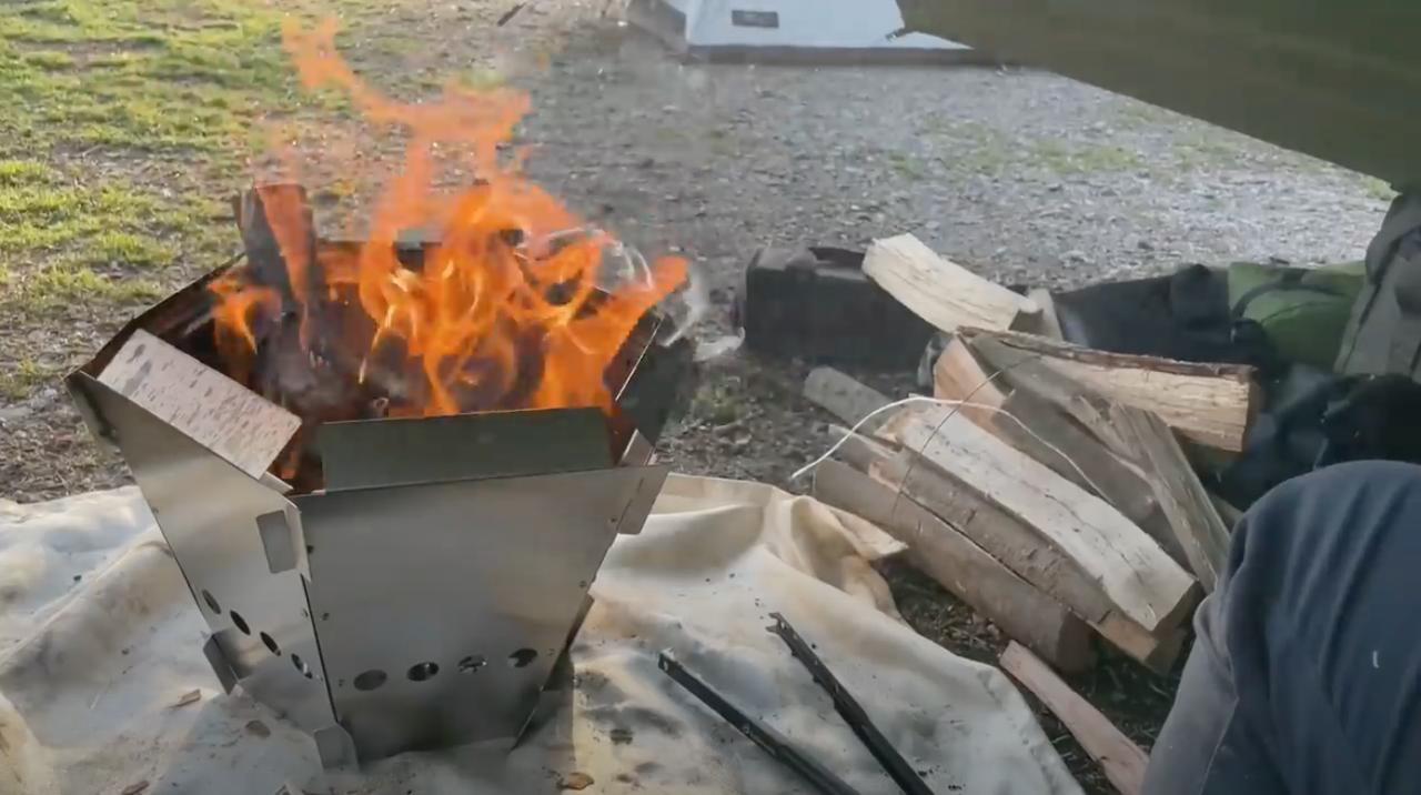 画像: DCM入手困難な『へキサファイアピット』は二次燃焼構造でコスパ最強のすごい焚き火台! - ハピキャン|キャンプ・アウトドア情報メディア