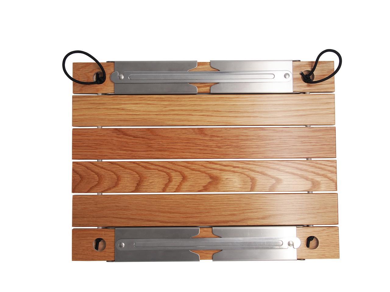 画像1: 【CAPTAIN STAG × 村の鍛冶屋】ライバルの共演!オリジナル木製ロールテーブルを9/17より限定500台発売