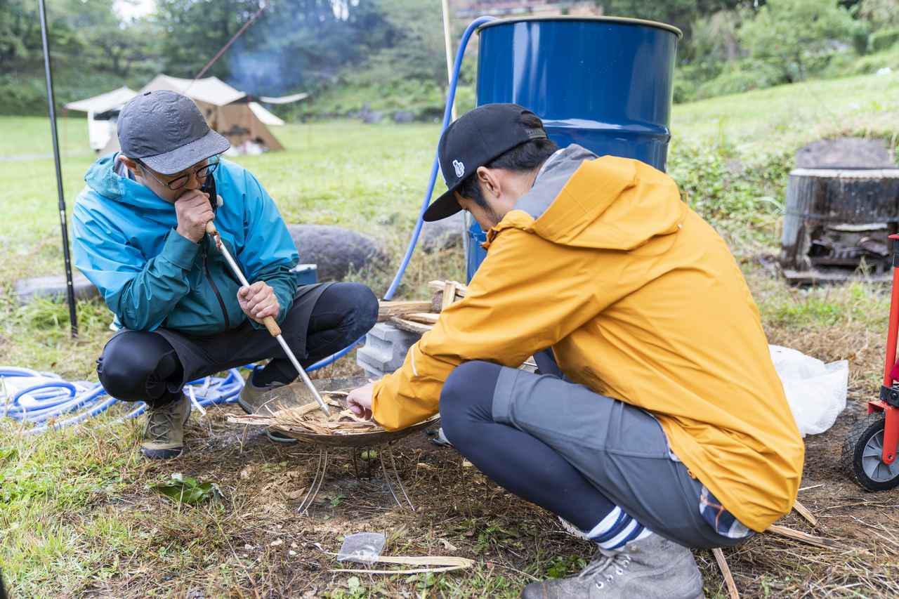 画像1: 【おぎやはぎのハピキャン】ドラム缶風呂作りとヒデさん流時短キャンプアイテムを紹介!Vol.2 - ハピキャン|キャンプ・アウトドア情報メディア