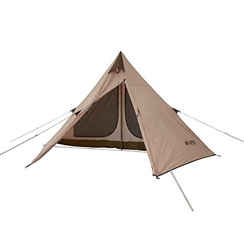 画像1: LOGOS(ロゴス)より組み立て簡単2ルーム・ワンポールテント新発売!ソロキャンプ・デュオキャンプにピッタリです