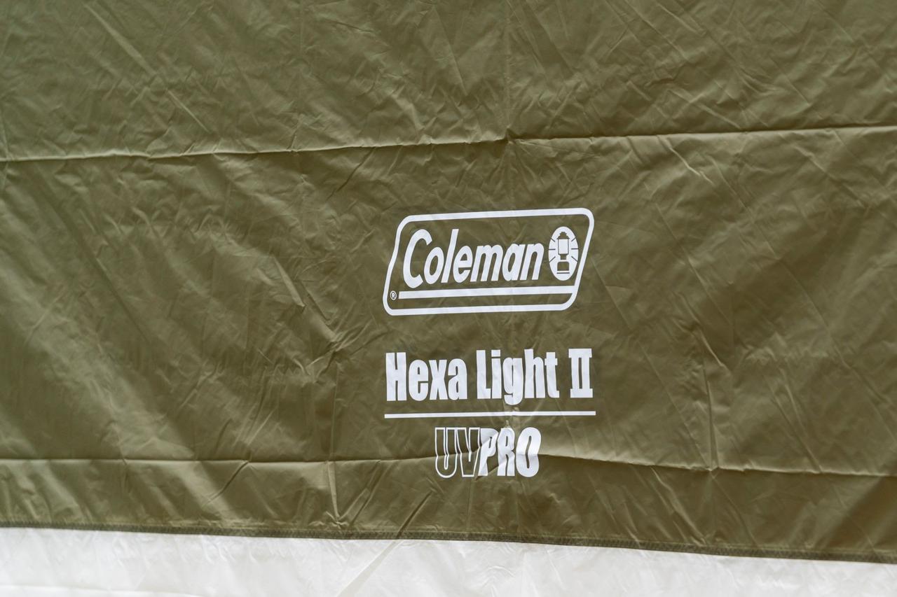 画像1: コールマン ヘキサライトⅡのポイントは誰でもきれいに張れちゃう形状