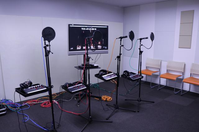 画像: 音響設備