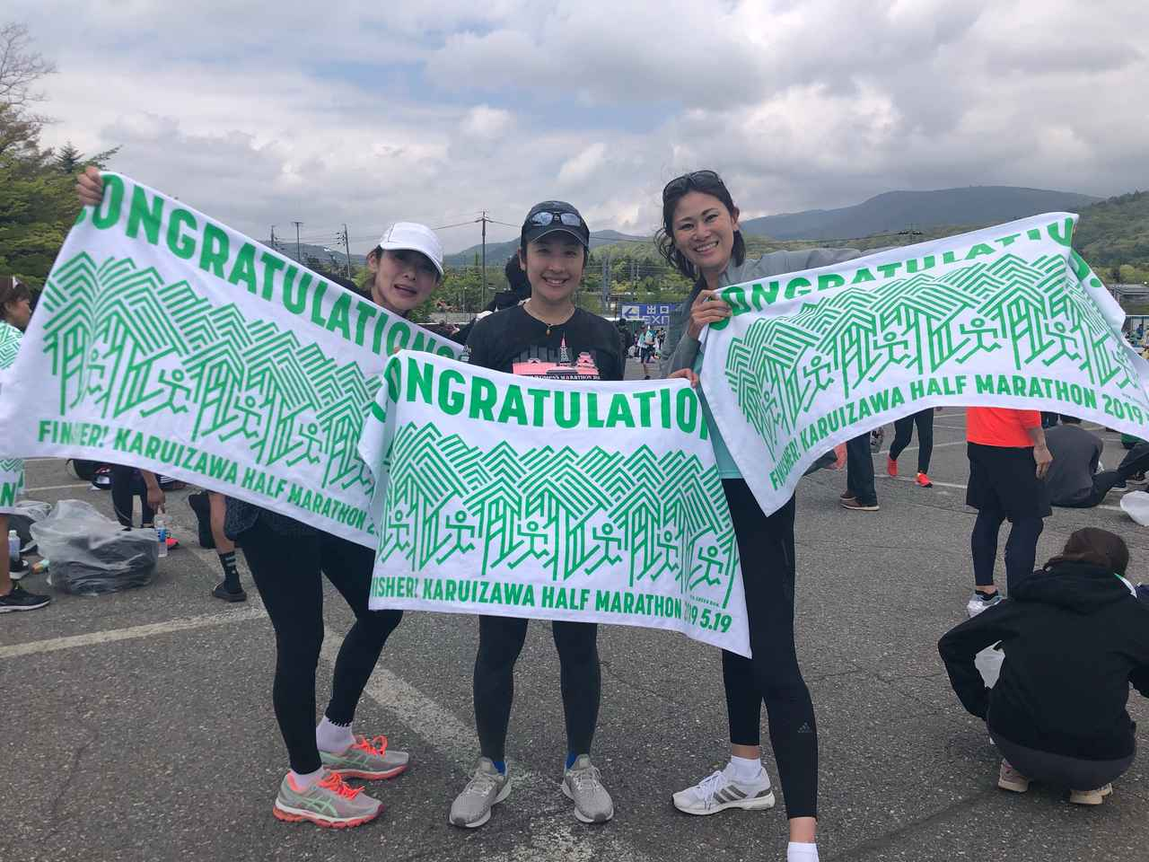 画像: 5月は軽井沢でハーフマラソンを走り、1時間43分という自己ベストを達成しました〜