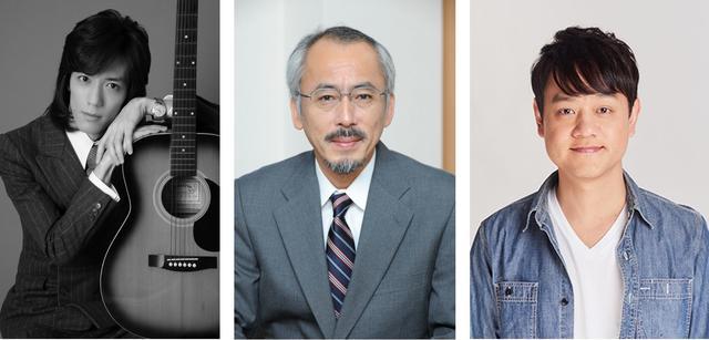 画像: 左から半田健人、水谷修、大島直也