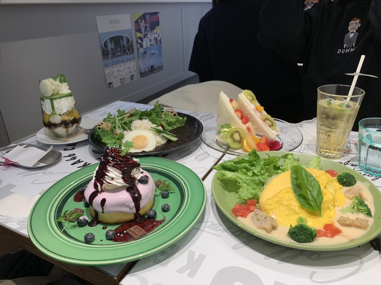 画像: これは、別の日に行った名古屋の欅カフェ。