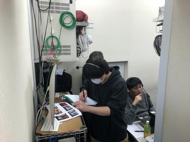 画像: スタジオ裏の様子