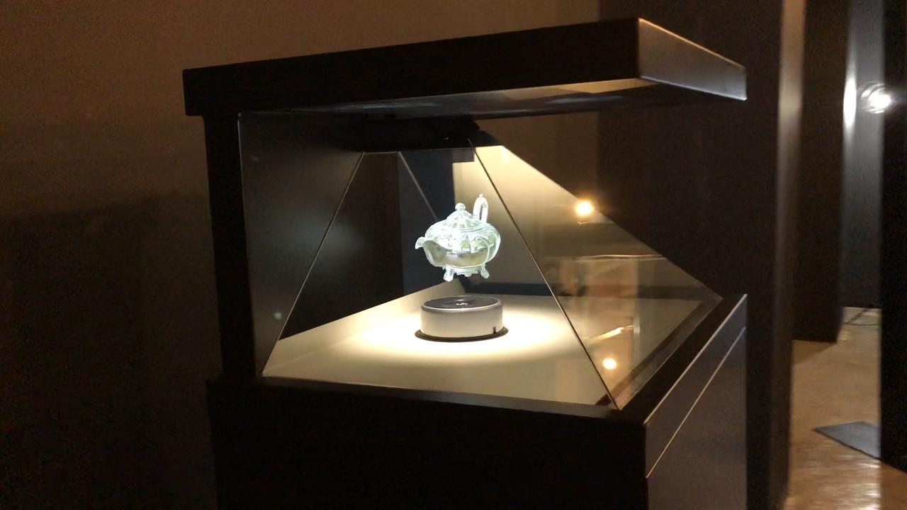 画像: 3DCGホログラム初体験