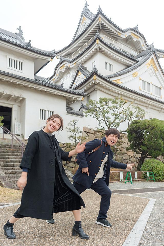 画像1: 岸和田城へGO!