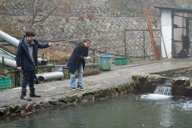画像: U.K. vs 松優で早釣り競争です!