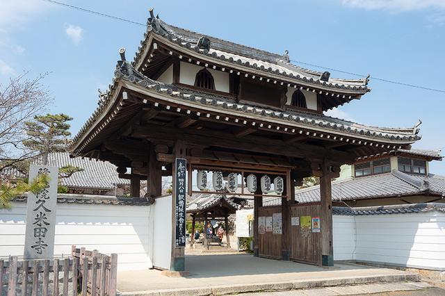 画像1: 近くの久米田寺へお邪魔しました