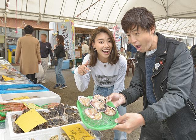 画像1: 新鮮な魚介類がいっぱいです!