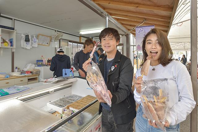 画像2: 新鮮な魚介類がいっぱいです!