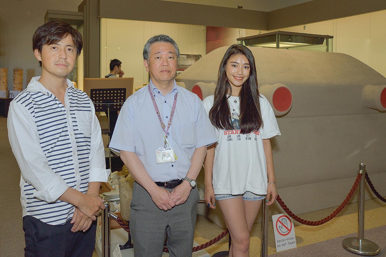 画像4: 学芸課長 増田さんにお話を伺いました