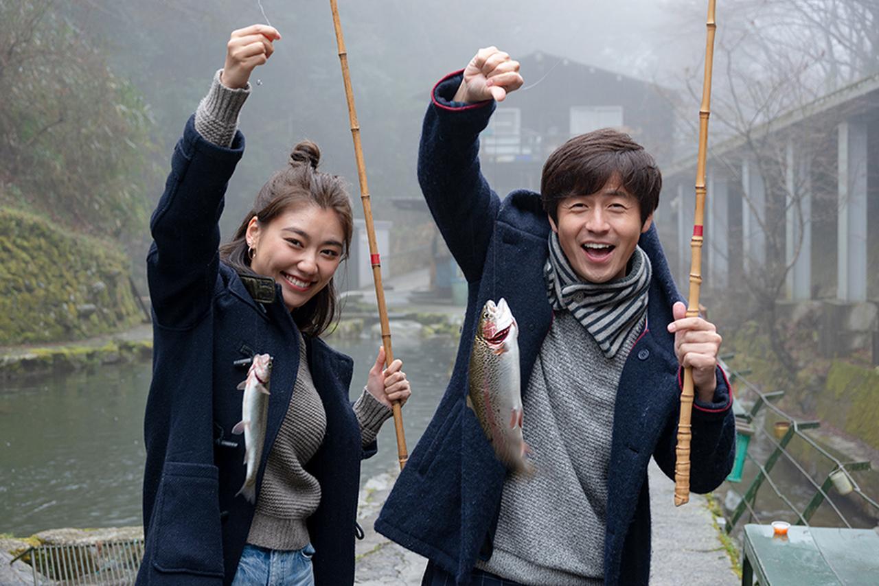 画像: U.K. 第1位 〈金剛山麓 千早川 マス釣り場〉