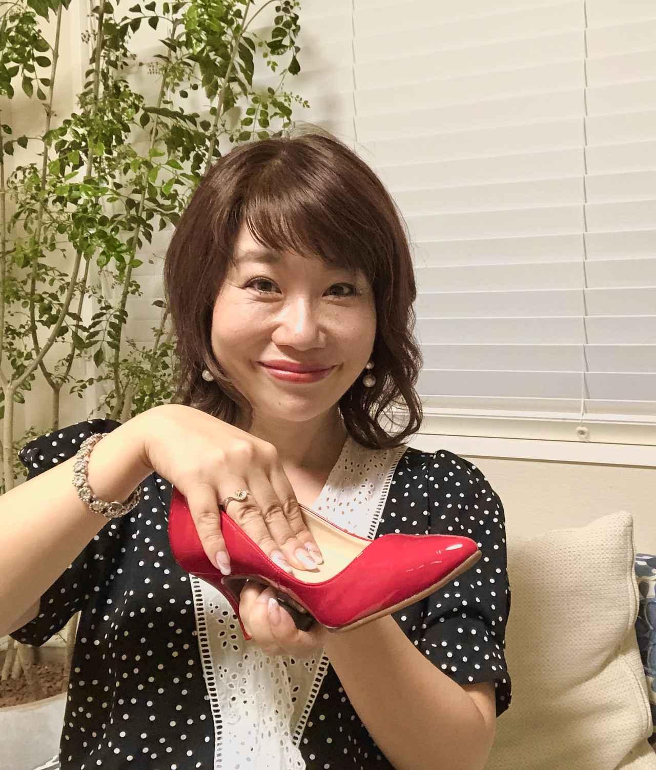 画像: 「靴の中がふかふか~♡」