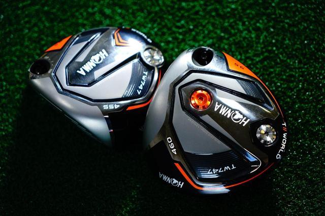 画像: 本間ゴルフのグローバルモデル「TW747」。ローズは460CCの「TW747 460(写真右)」を使用する