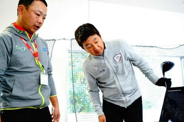 画像: 山田匠さん(左)と野村タケオさん(右)。ドラコン獲得へ向け、即席タッグを組んだ