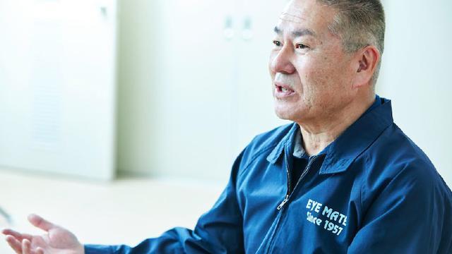 画像: アイメイト 協会代表理事、塩屋隆男氏