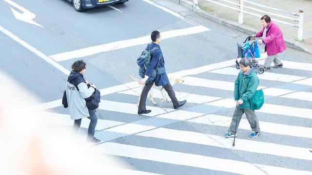 画像1: 誰もが見とれてしまうくらい颯爽と歩くペアを