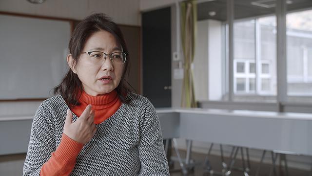 画像: パラキャン事務局長の中山薫子さん