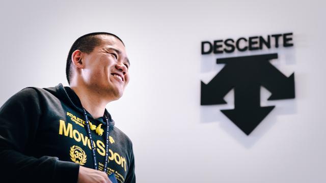 画像: 神谷将志さん。所属はデサント社スポーツパフォーマンス研究開発課